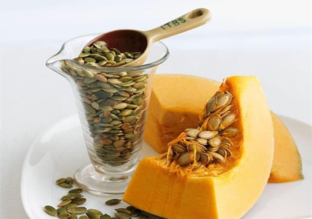 Hạt bí chữa bệnh cực tốt, làm khỏe gan, chống tiểu đường