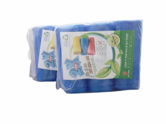 Bao rác cuộn màu siêu tiết kiệm (200,150,100 túi/ kg) 3