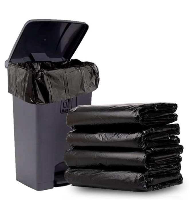 Bao rác đen bóng cực đại 80*100, 90*120 (có quai/không quai) 2